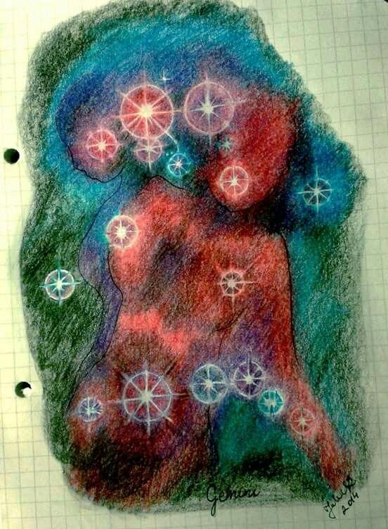 By JuhVik, gemini, stars, zodiac, twins