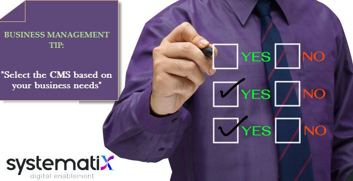 Secret to make your website user friendly  #CMS #businessmanagement #Digitalmarketing #Systematix