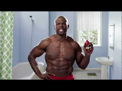 Old Spice Commercial: Shouting at men like a coach. Policing manhood.