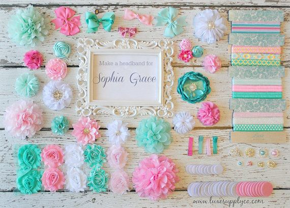 Are you hosting a baby shower or birthday party? Headband making stations are all the rage right now! Theyre such a fun activity for everyone and
