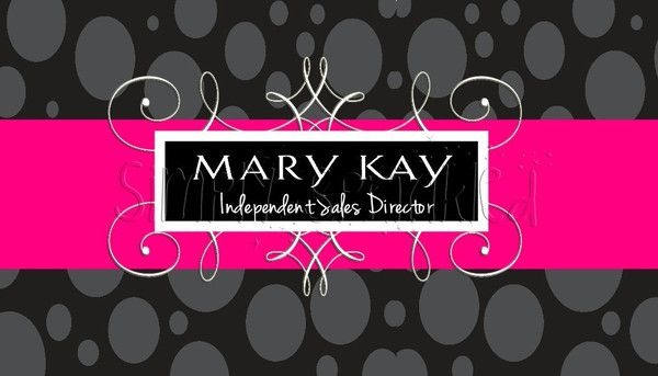 Mary Kay Business Card - Simply Sprinkled : Mary Kay : Pinterest ...