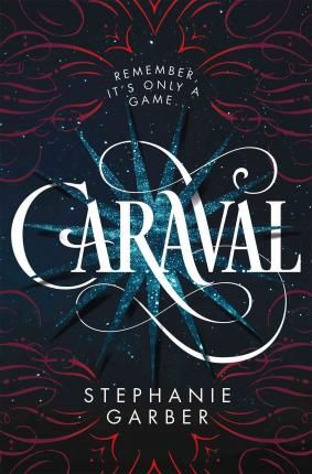 """""""Scarlett has never left the tiny island where she and her beloved sister, Tella, live with their ruthless father. Now Scarlett s father has arranged a marriage for her, and Scarlett thinks her dreams of seeing Caraval, the legendary, once-a-year performance where the audience participates in the show, are over.Then, Scarlett s long-dreamt of invitation to Caraval finally arrives. So, Tella enlists a mysterious sailor s help to whisk Scarlett away to this year s show. But as soon as the trio…"""