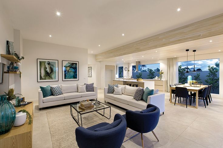 Family room on display at the Vermont with a Cottesloe World of Style.
