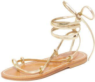 K. Jacques Bikini Wrap Gladiator Sandals - $268.00