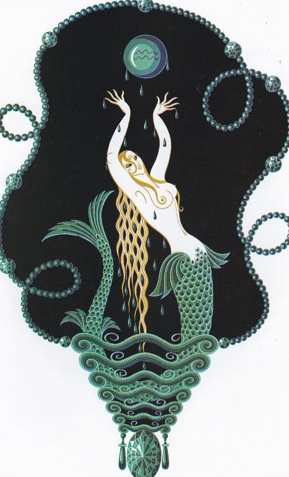 Hey, I found this really awesome Etsy listing at https://www.etsy.com/listing/208025607/erte-print-book-plate-art-deco-design