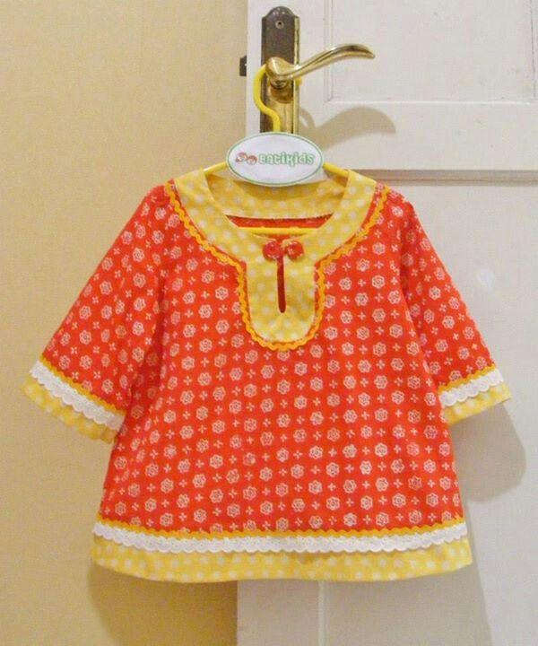 tunic batik for kiddos