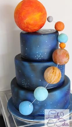 Space Cake, galaxy cakes, space themed birthday cake, space cake, universe cakes, solar system cakes, ladycakes, cape coral cakes, boys birthday cakes