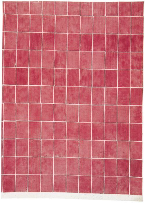 Toile tamponnée, Louis Cane, 1967, via Wikiart