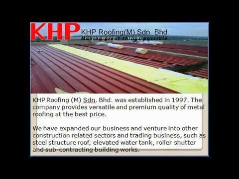 Metal Deck Industrial Roofing  Malaysia.  : Khproofing.com.my Visit: http://www.khproofing.com.my , Industrial Roofing,  KHP Roofing is a leading roofing company located in Malaysia. The company was among the first roofing companies specializing in all types of roofing systems in Malaysia.