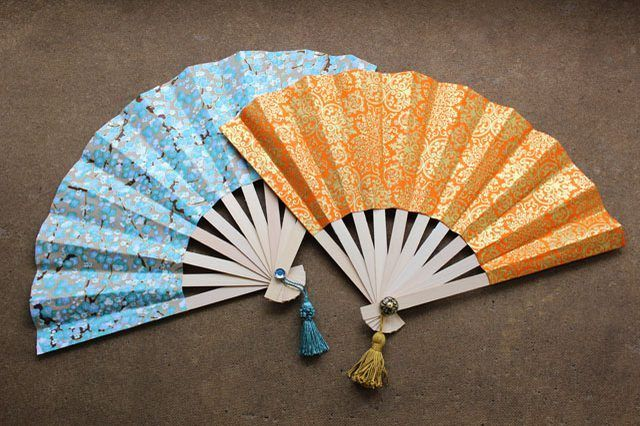 Japanese fans are both beautiful and functional.