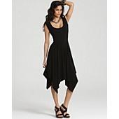 ABS by Allen Schwartz Dress - Handkerchief Skirt Dress