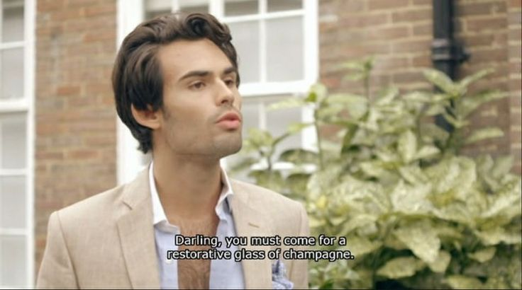 Marc Francis fom Made in Chelsea. So posh its not even funny