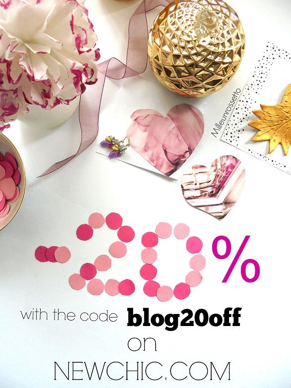 Get a 20% discount on everything on Newchic with the code blog20off