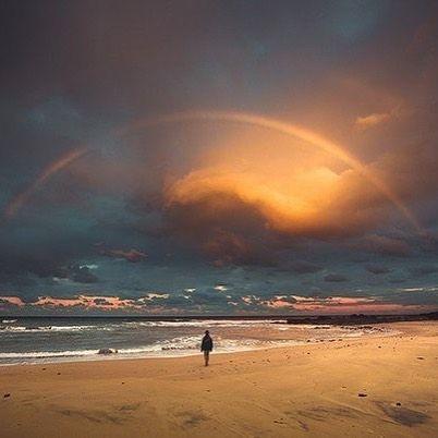 Радуга после грозы Александрия Египет  Rainbow after the storm Alexandria Egypt by planet_beautiful