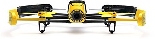 Parrot Bebop Quadcopter Drone with Sky Controller Bundle (Yellow) – RC Radio Control