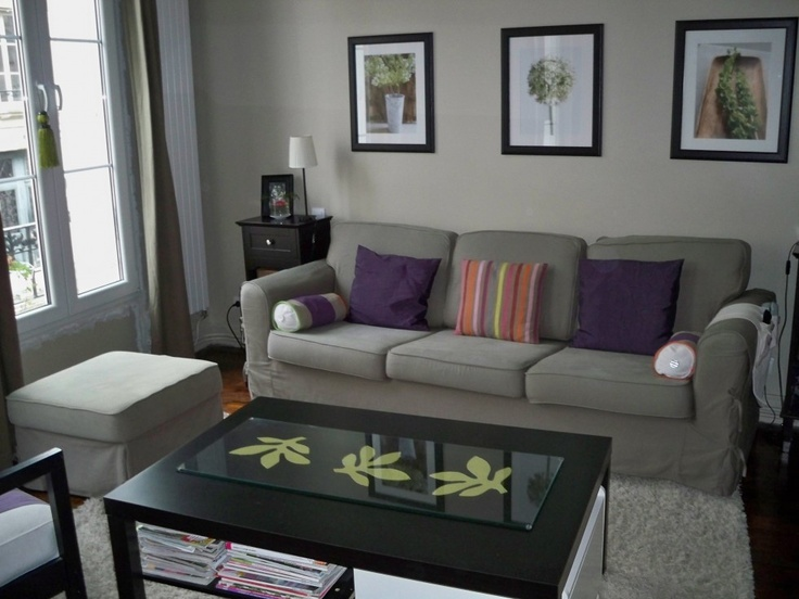 Grey Purple Living Room Ideas Pinterest