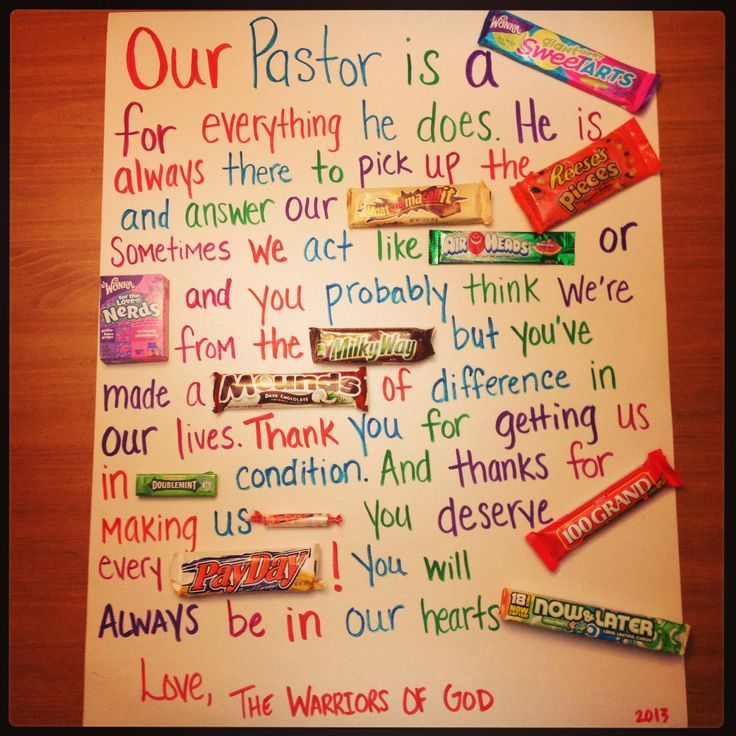 pastor appreciation ideas - Google Search | Pastor ...