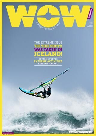 WOW air in-flight magazine. Extreme Iceland. Extreme sport in Iceland. Extreme nature in Iceland. Extreme people in Iceland. What's going on in Iceland? Find cheap flights to Iceland with WOW air and find out