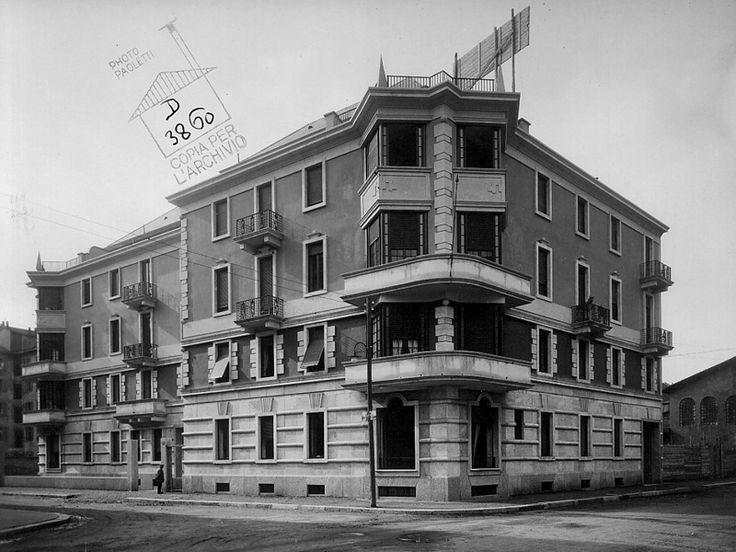 Casa Radici-Di Stefano - Piero Portaluppi - itineraries - Ordine degli architetti, P.P.C della provincia di Milano