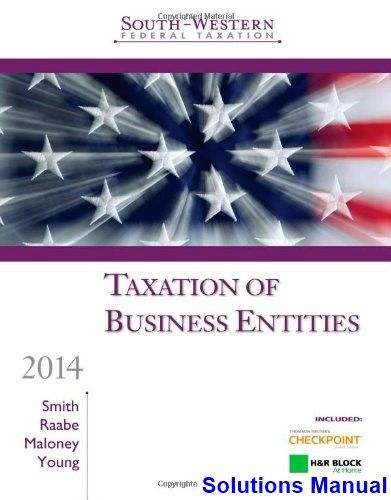 59 best solutions manual download images on pinterest federal south western federal taxation 2014 taxation of business entities 17th edition smith solutions manual fandeluxe Gallery