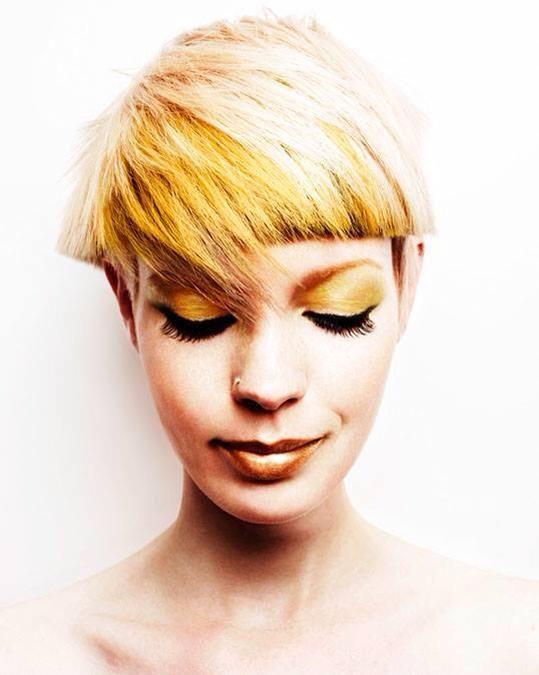 jaune et blond