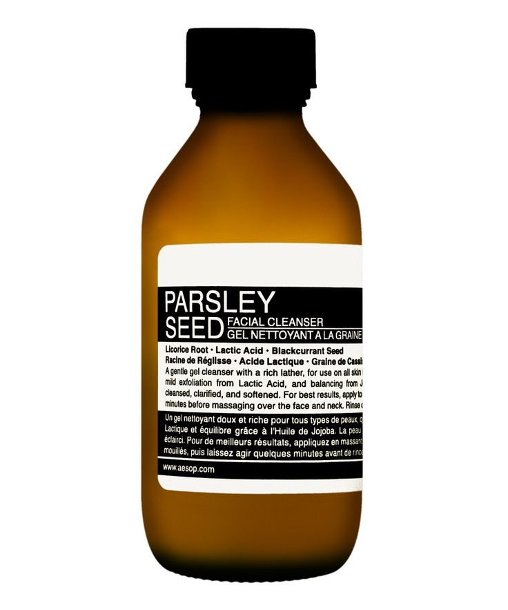 #SkinCare #CultBeauty #parsleyseedfacialcleanser #aesop #cultbeautywishlist Parsley Seed Facial Cleanser  by Aesop