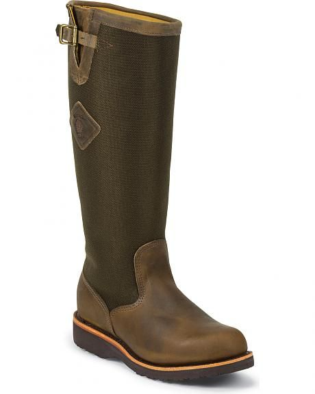 "Chippewa 17"" Snake Boots - Size 8.5 or 9 :/"