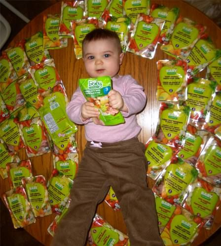 Rose's granddaughter loves her finger foods combined with Baby Gourmet Tasty Textures purees!