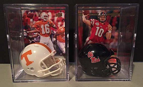 Peyton Manning and Eli Manning Brothers in Arm NCAA Helmet Shadowbox set * You can get additional details at the image link. (This is an affiliate link and I receive a commission for the sales)