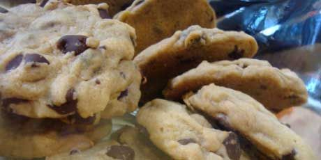 Chef Michael Smith's Chewy Chocolate Chip Cookies. These are BY FAR the best cookies ever! They are so nice and soft and chewy on the inside, my husband adores these and everytime I make them for others, they always ask for the recipe!