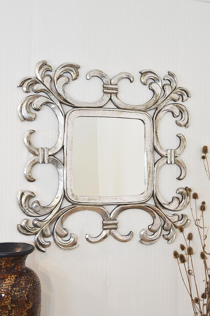 29 best clearance sale images on pinterest clearance for Silver framed mirrors on sale