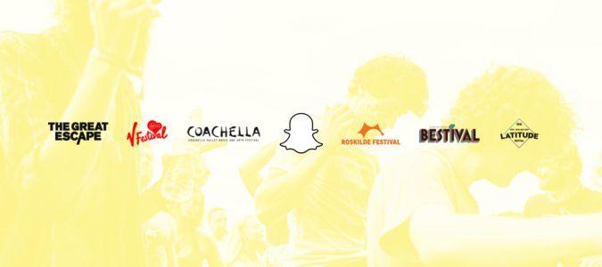 Music festivals on Snapchat. #snap #snapchat #snapchatmarketing #socialmedia #musicfestival