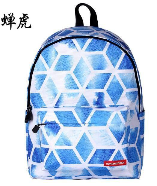 Supreme Big capacity Women Art Oil Painting Backpack Floral Flower Eastpack Scenery Space Printed School Bag For Teenager Girls