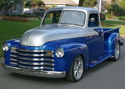 CUSTOM HIGH LEVEL FIVE WINDOW -1950 Chevrolet 3100 Pickup Restomod  - 3K MILES