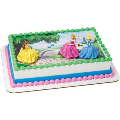 Disney Princess Happily Ever After Signature Decoset Cake Topper
