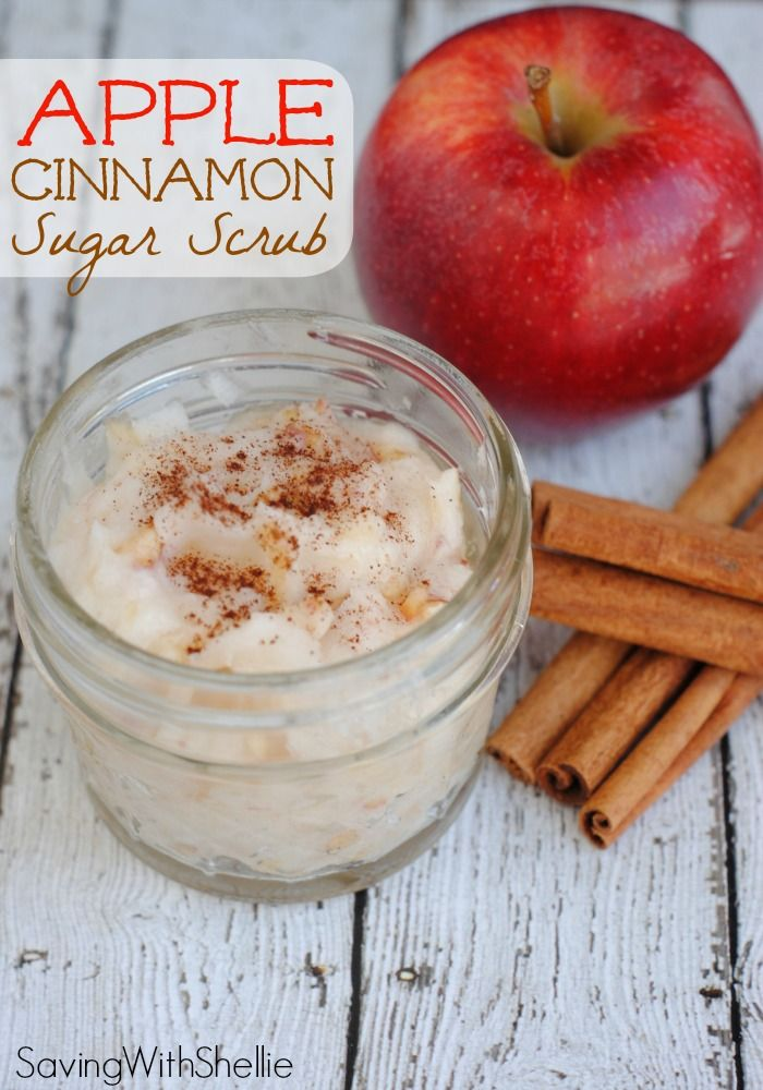 This fresh Apple Cinnamon Sugar Scrub is a lovely Teacher Appreciation Gift. Plus a FREE printable gift tag makes it perfect!