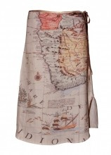 Map skirt...awesome