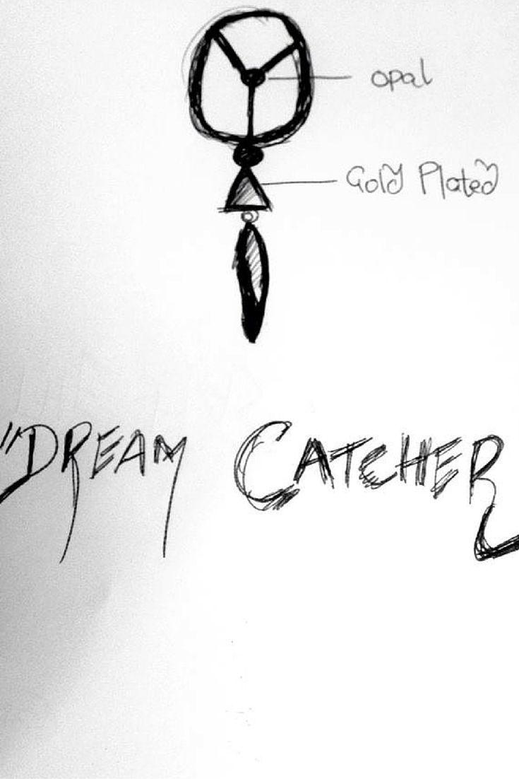 """The Dream Catcher"" - sketch to design  #esfir #statementjewelry #earrings #3Dart"