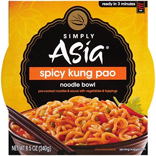 Simply Asia Spicy Kung Pao Noodle Bowl 85 oz *** Check this awesome product by going to the link at the image.Note:It is affiliate link to Amazon.