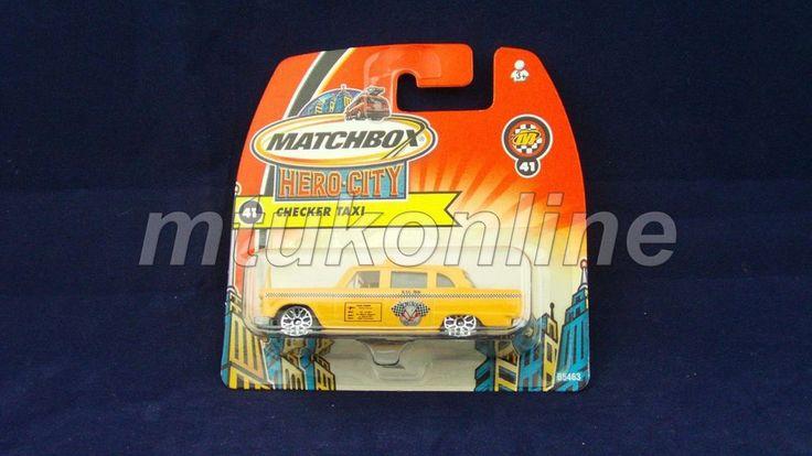 MATCHBOX 2003 CHECKER TAXI | 1/62 | CHINA | HERO CITY 41 | B5463
