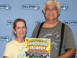 Joseph and Joanne Zagami of North Attleborough, Mass., have won $1 million on a lottery ticket that they fished out of their trash after mistakenly throwing it away, the Associated Press reports.Lottery winners Joseph and Joanne ZagamiAfter buying the $5 scratch-off ticket from a supermarket vending machine, the state lottery commission says, the Zagamis dropped it into one of their grocery bags and then forgot about…