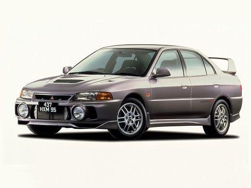 Mitsubishi Lancer GSR Evolution IV (1996 – 1997).