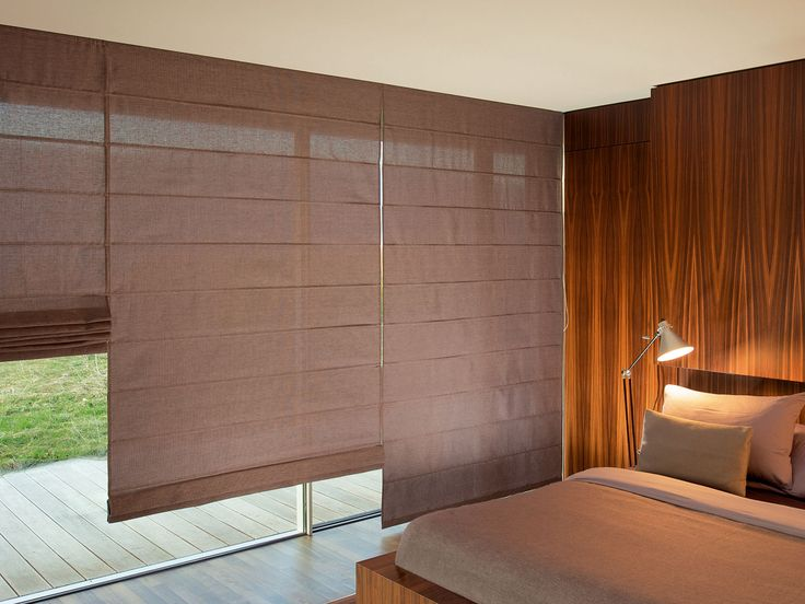 Decora tu #Habitación con Cortinas Romanas de Diferentes Colores.