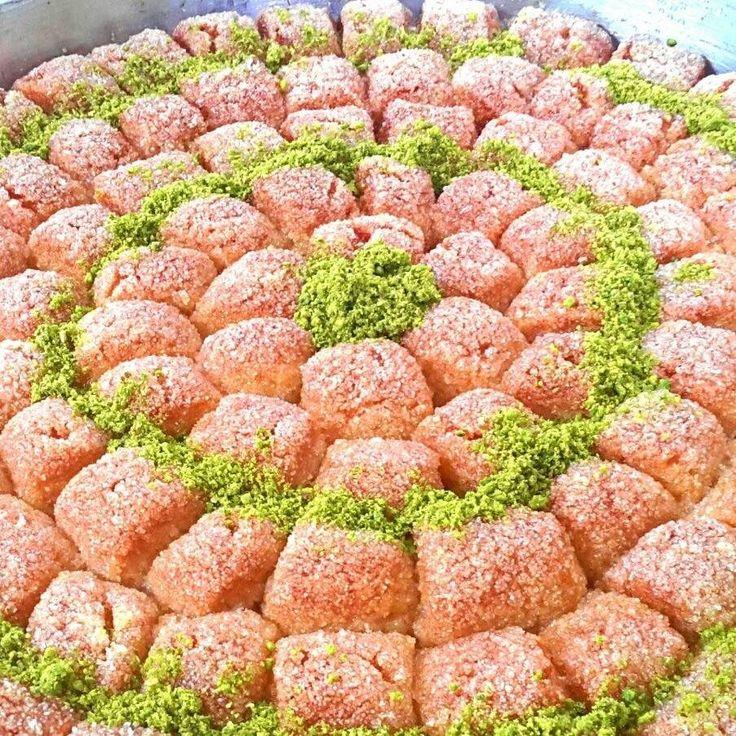 LOKMALIK İRMİK TATLISI Nurselin evi Belgin Binici Aşk-ı şeker kolay yemek tatlı tarifleri