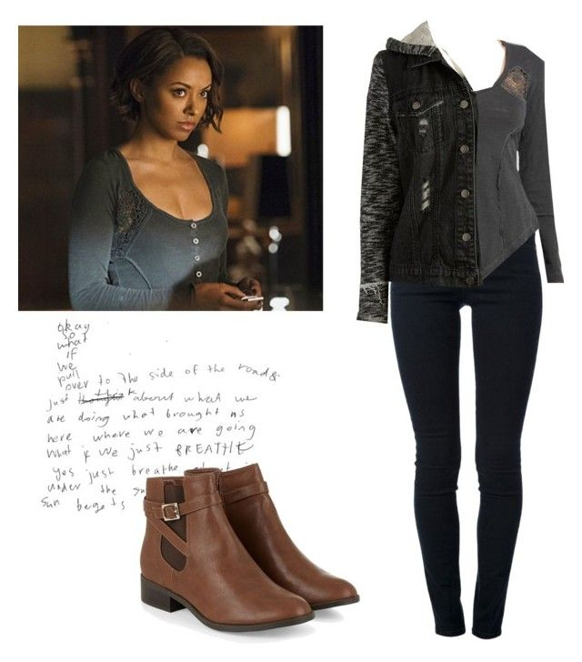 """Bonnie Bennett 6x21 - tvd / the vampire diaries"" by shadyannon ❤ liked on Polyvore featuring STELLA McCARTNEY, Free People and Tinsel"