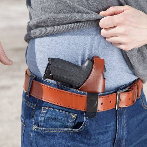 Leather Iwb Holster With Steel Clip Craft Holsters In 2020 Leather Iwb Holster Iwb Holster Holster