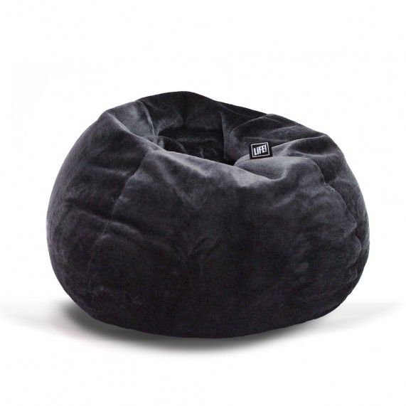 Curl up with a good book or movie in this soft and sumptuous fur beanbag from liveliveitup.com.au