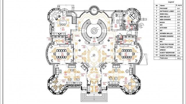 Luxury Villa Floor Plan In Uae Luxury Villa Design Luxury Floor Plans Floor Plans