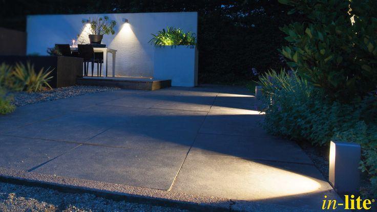 ACE DOWN | Strak lichtbeeld naar beneden | Wandlamp | Design | Rose Silver | Schutting | Muur | ACE | Kantelbare lichtbron waardoor je jouw eigen lichtbeeld creëert | Tuinverlichting | Buitenspot MINI SCOPE
