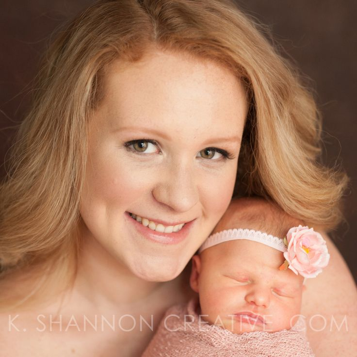 Beautiful new mother glow! Mother & infant portraits by www.kshannoncreative.com